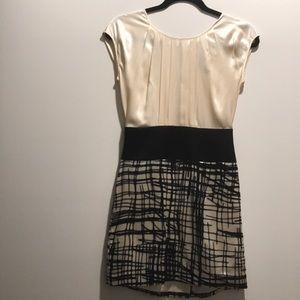 BCBGMaxazria silk dress, size 0